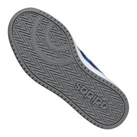 Buty adidas Hoops 2.0 K Jr EE8999 granatowe 4