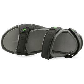 Sandały 4F M H4L19-SAM003 20S czarny czarne 1