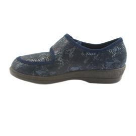 Befado obuwie damskie pu 984D015 granatowe 2