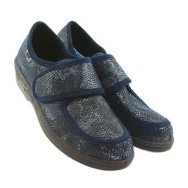 Befado obuwie damskie pu 984D015 granatowe 4