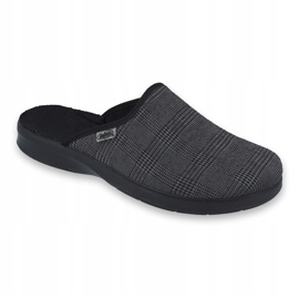 Befado obuwie męskie pu 548M016 szare 1