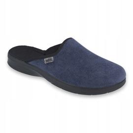 Befado obuwie męskie pu 548M018 niebieskie 1