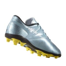 Buty piłkarskie adidas Messi 15.4 FxG Jr B26956 niebieskie niebieski 5