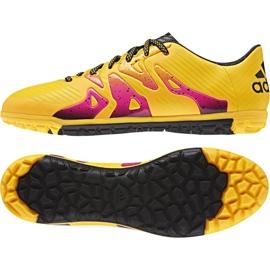 Buty piłkarskie adidas X 15.3 Tf M S74660 pomarańczowe pomarańczowe 1