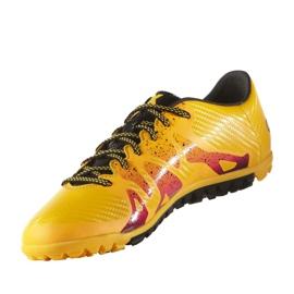 Buty piłkarskie adidas X 15.3 Tf M S74660 pomarańczowe pomarańczowe 2