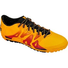 Buty piłkarskie adidas X 15.3 Tf M S74660 pomarańczowe pomarańczowe 3