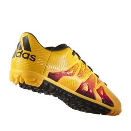 Buty piłkarskie adidas X 15.3 Tf M S74660 pomarańczowe pomarańczowe 4