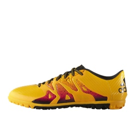 Buty piłkarskie adidas X 15.3 Tf M S74660 pomarańczowe pomarańczowe 7