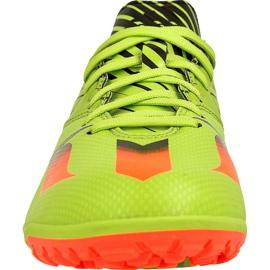Buty piłkarskie adidas Messi 15.3 Tf M S74696 zielony zielone 2