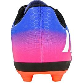 Buty piłkarskie adidas Messi 16.4 FxG Jr BB1033 niebieskie niebieski 1