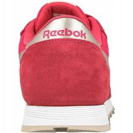 Buty Reebok Classic Nylon Jr BD1287 różowe 2