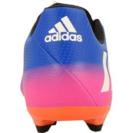 Buty piłkarskie adidas Messi 16.3 Fg M BA9021 niebieskie niebieskie 2