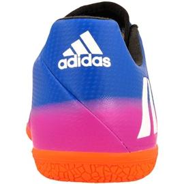 Buty halowe adidas Messi 16.3 In M BA9018 niebieskie niebieskie 2