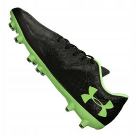 Buty piłkarskie Under Armour Magnetico Pro Fg M 3000111-002 czarne czarny 3
