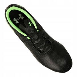 Buty piłkarskie Under Armour Magnetico Pro Fg M 3000111-002 czarne czarny 7