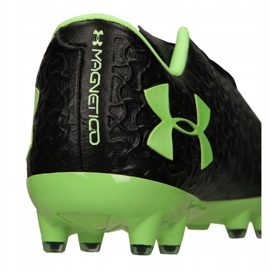 Buty piłkarskie Under Armour Magnetico Pro Fg M 3000111-002 czarne czarny 9