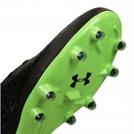 Buty piłkarskie Under Armour Magnetico Pro Fg M 3000111-002 czarne czarny 10