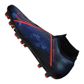 Buty piłkarskie Nike Phantom Vsn Elite Df AG-Pro M AO3261-440 granatowe granatowe 1