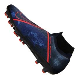 Buty piłkarskie Nike Phantom Vsn Elite Df AG-Pro M AO3261-440 granatowe granatowe 3