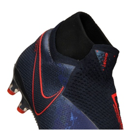 Buty piłkarskie Nike Phantom Vsn Elite Df AG-Pro M AO3261-440 granatowe granatowe 8