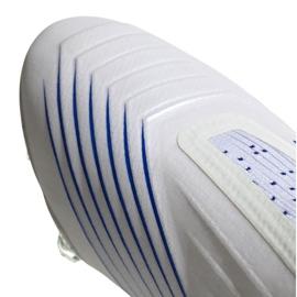 Buty piłkarskie adidas Predator 19+ Fg M BC0548 biały białe 4