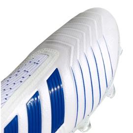 Buty piłkarskie adidas Predator 19+ Fg M BC0548 biały białe 7