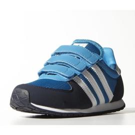 Buty adidas Originals Adistar Racer Cf C Jr M17117 granatowe niebieskie 2