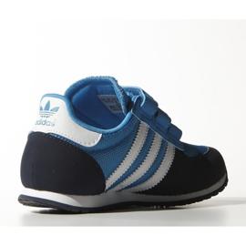 Buty adidas Originals Adistar Racer Cf C Jr M17117 granatowe niebieskie 3