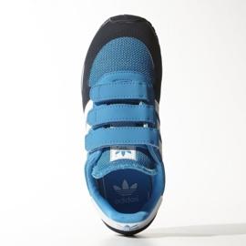 Buty adidas Originals Adistar Racer Cf C Jr M17117 granatowe niebieskie 4