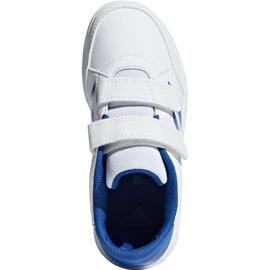 Buty adidas Altasport Cf K D96827 białe niebieskie 1