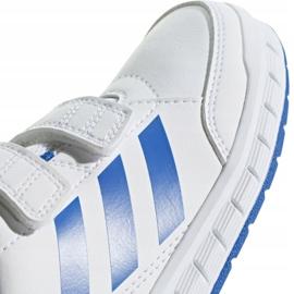 Buty adidas Altasport Cf K D96827 białe niebieskie 2