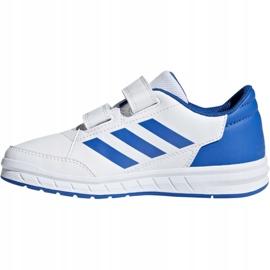 Buty adidas Altasport Cf K D96827 białe niebieskie 3