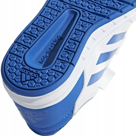Buty adidas Altasport Cf K D96827 białe niebieskie 4