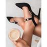 Kylie Szpilki Z Odkrytą Piętą czarne 6