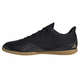 Buty halowe adidas Predator 19.4 In Sala M F35633 czarne czarny, czarny 1