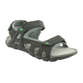 Sandały 4F M H4L19-SAM003 20S czarny 2