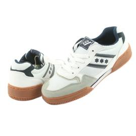 Buty halowe Rucanor Balance białe 5