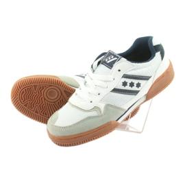 Buty halowe Rucanor Balance białe 4