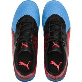 Buty halowe Puma One 19.4 It Jr 105504 01 czarne czarny 1