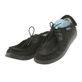 Befado obuwie męskie  pu 732M004 czarne 3
