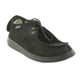Befado obuwie męskie  pu 732M004 czarne 1