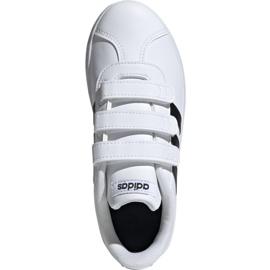 Buty Adidas Vl Court 2.0 Cmf C białe Jr DB1837 1