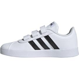 Buty Adidas Vl Court 2.0 Cmf C białe Jr DB1837 2