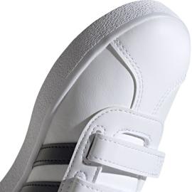 Buty Adidas Vl Court 2.0 Cmf C białe Jr DB1837 3