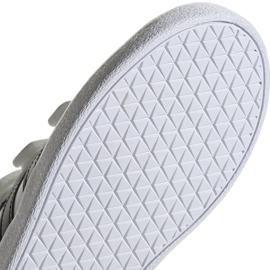 Buty Adidas Vl Court 2.0 Cmf C białe Jr DB1837 5