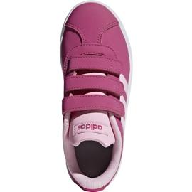 Buty Adidas Vl Court 2.0 Cmf C różowe Jr F36394 1