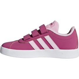 Buty Adidas Vl Court 2.0 Cmf C różowe Jr F36394 2