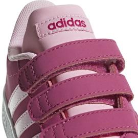 Buty Adidas Vl Court 2.0 Cmf C różowe Jr F36394 3