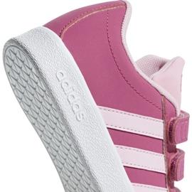 Buty Adidas Vl Court 2.0 Cmf C różowe Jr F36394 4