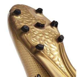 Buty piłkarskie adidas X 17.3 Fg Jr CP8990 biały, złoty złoty 3